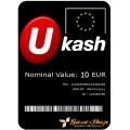 بطاقة يو كاش بقيمة 100 يورو