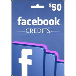 فايسبوك كريديت 50 دولار أمريكي